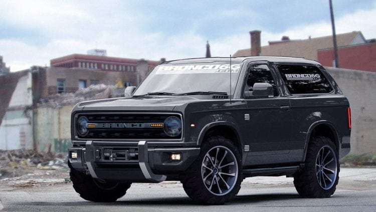 ford bronco 2018 white. brilliant ford source carscoopscom intended ford bronco 2018 white p