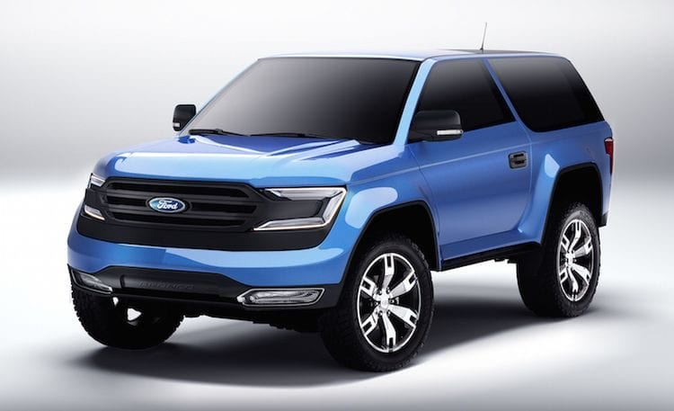 Ford Bronco 2017 rendering; Source: news.boldride.com