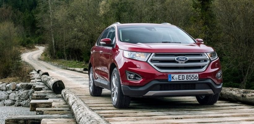 2017 Ford Edge Exhilarating Innovative Confident
