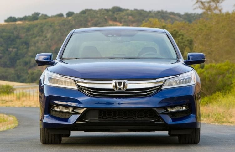 2017 Honda Accord Hybrid shown; Source: netcarshow.com