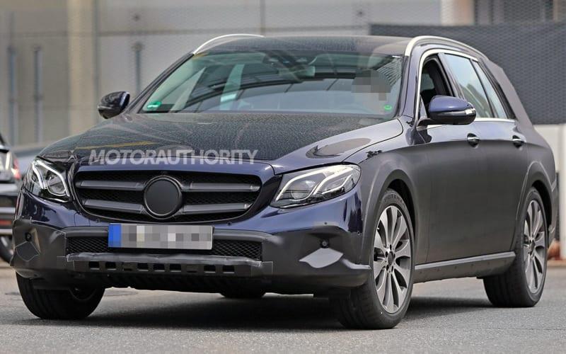 2017 Mercedes-Benz E-Class Spy Shot 01
