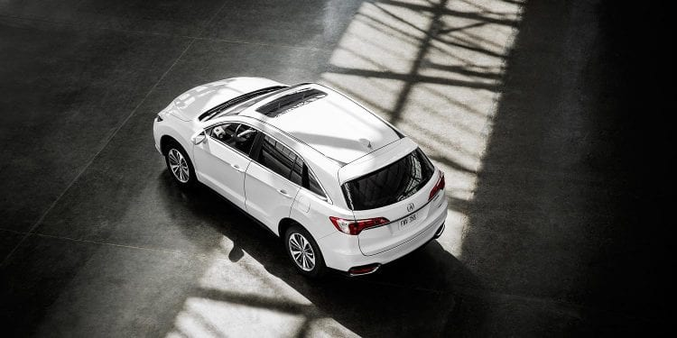2017 model shown; Source: acura.com