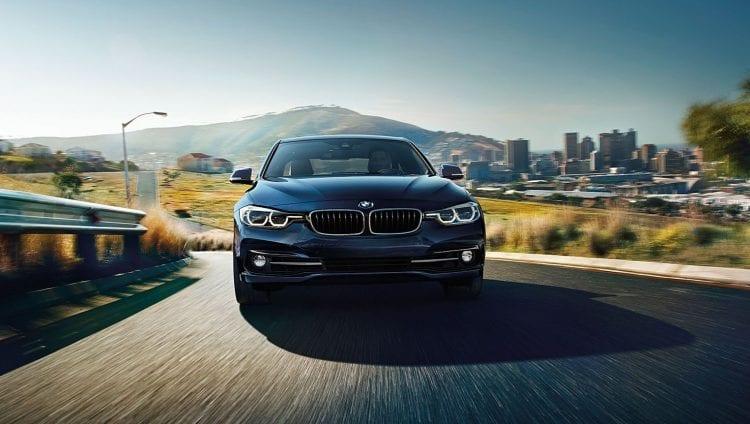 2017 BMW 3 Series Sedan Shown; Source: bmwusa.com