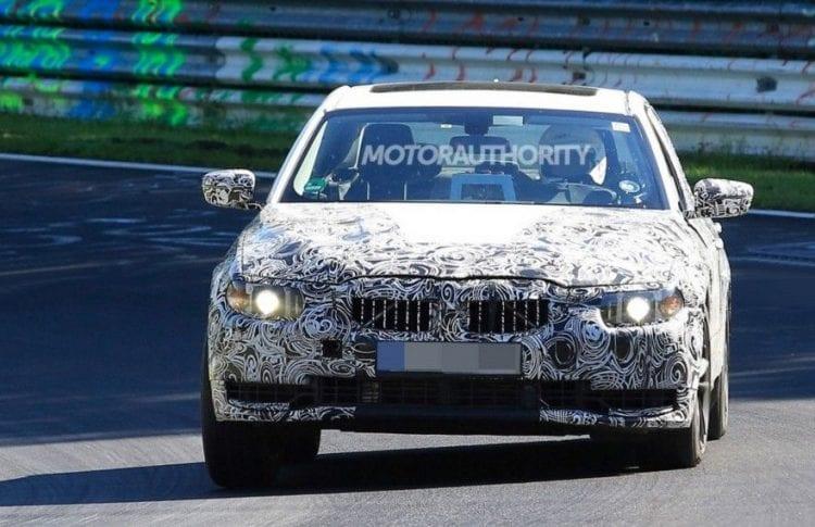 2018 BMW 3 Series Spy photo; Source: motorauthority.com