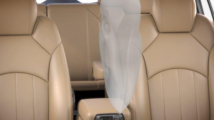 2018 Buick Enclave interior airbag