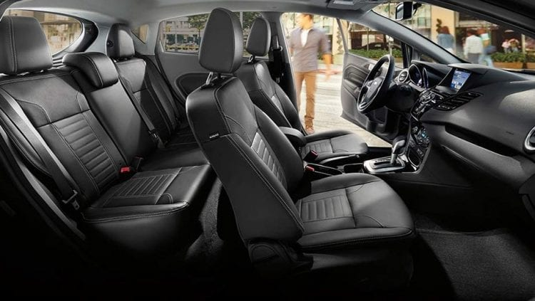2018 Ford Fiesta Spy Photos Interior Design