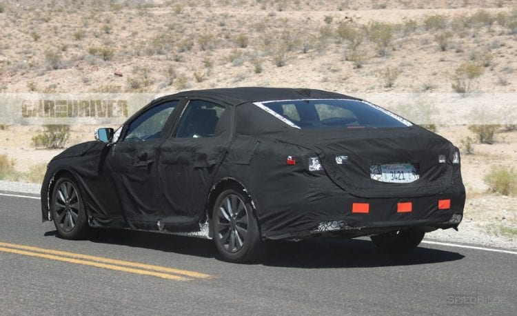 2018 Honda Accord Spy Photo; Source: caranddriver.com