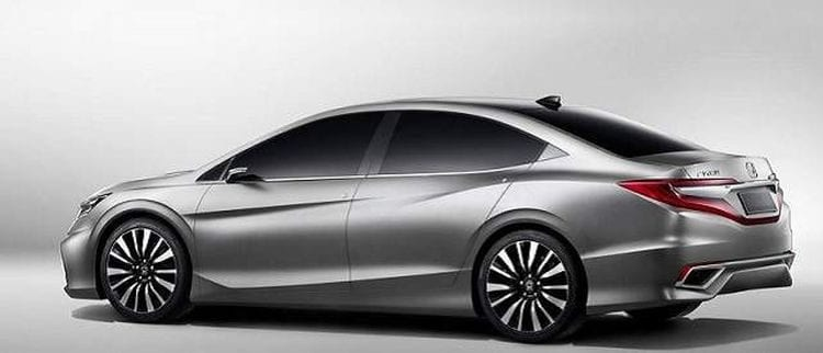 2018 Honda Accord Rendering; Source: carscomparison.net