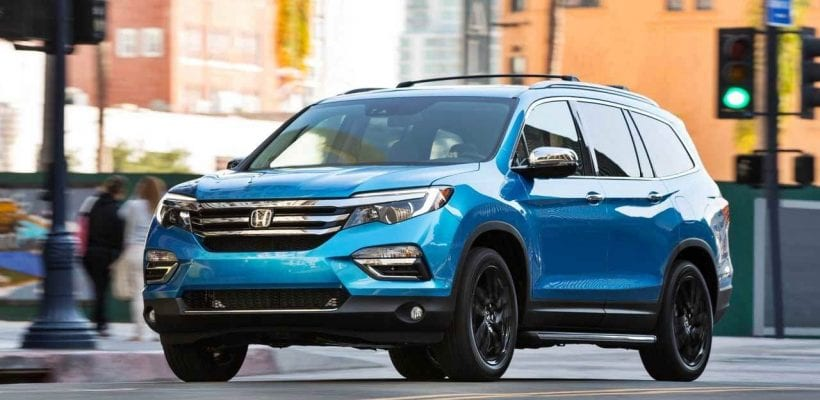2018 Honda Pilot More Aggressively Designed