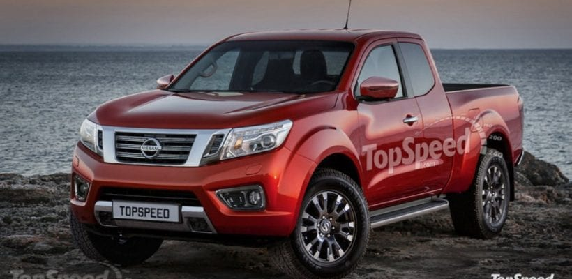 2018 Nissan Frontier - Rendering, Rumors, Spy photos, Price