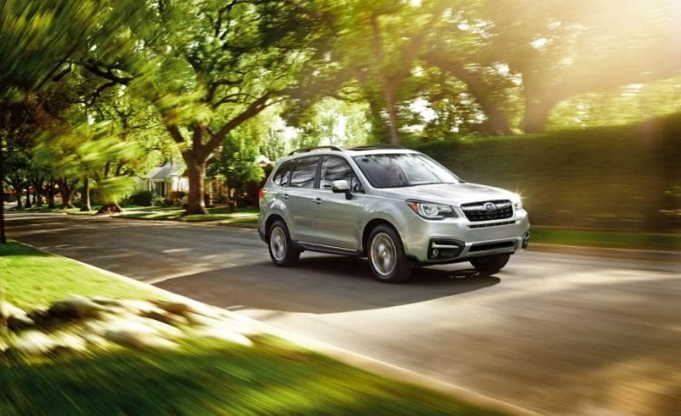2018 Subaru Forester In Motion