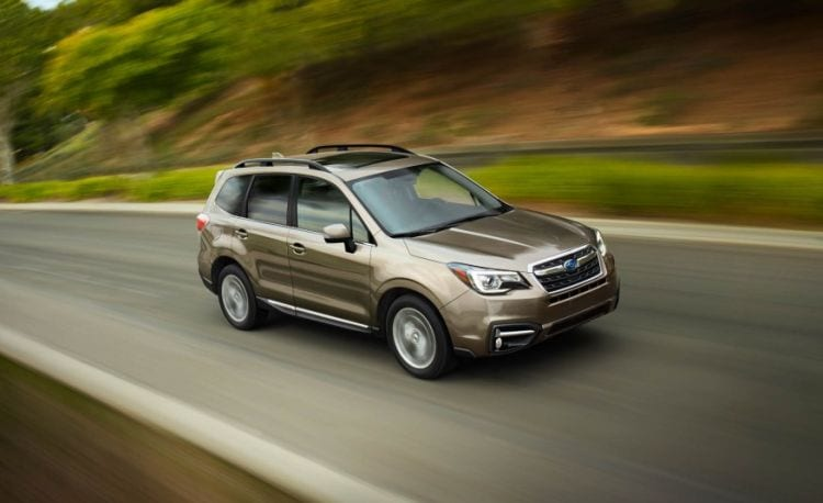 2018 Subaru Forester Concept Redesign Review Price Rumors