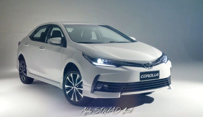 2018 toyota corolla estimated price specs spy photos rumors. Black Bedroom Furniture Sets. Home Design Ideas