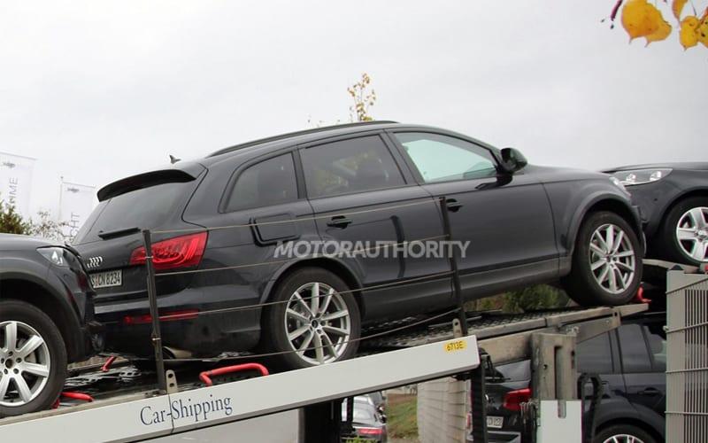 2018 volkswagen touareg. simple 2018 spy shot 03 to 2018 volkswagen touareg