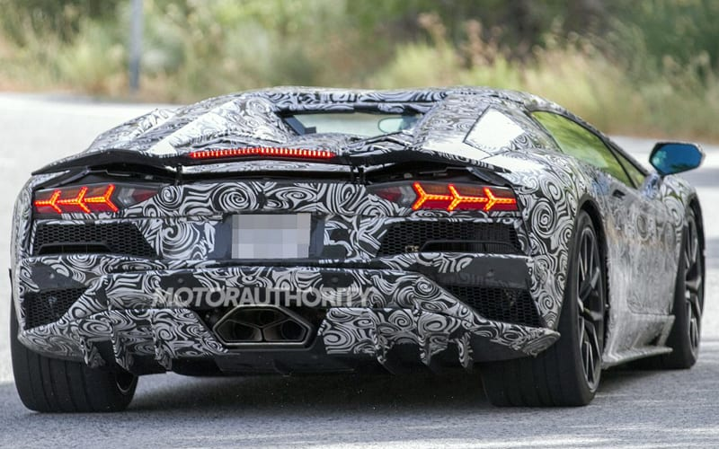 lamborghini car 2018. spy shot 04 lamborghini car 2018