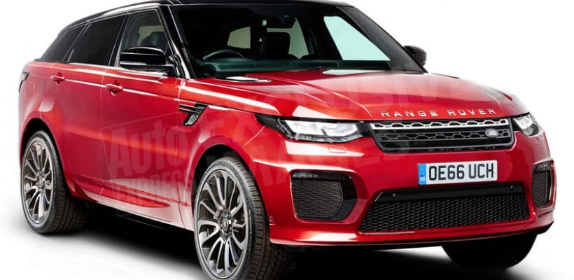 Spied 2018 Land Rover Range Sport Coupe