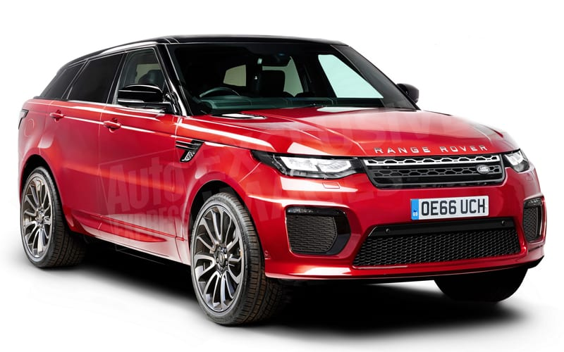 spied 2018 land rover range rover sport coupe spy shots rumors. Black Bedroom Furniture Sets. Home Design Ideas
