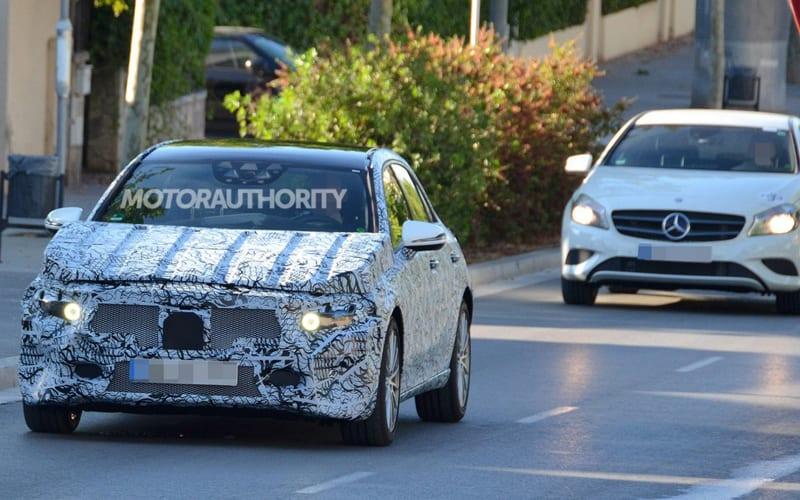 2018 Mercedes-Benz A-Class Spy Shot 01