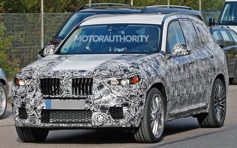 2019 BMW X3 M Spy Shot 01