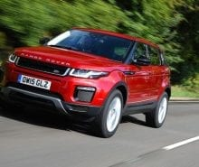 Baby Range Rover Evoque in preparation