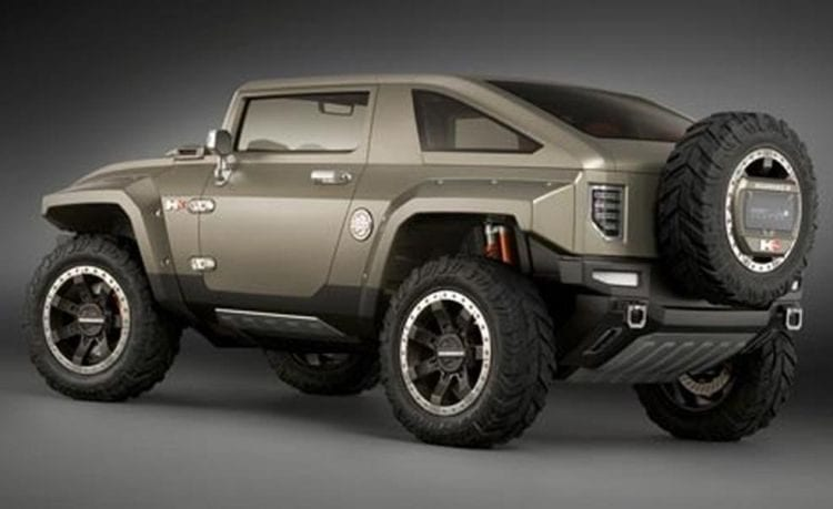 gmc may get an suv that looks like a hummer to rival jeep autos post. Black Bedroom Furniture Sets. Home Design Ideas