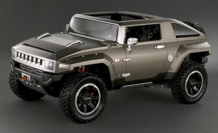 Hummer Hx Electric Price >> Hummer HX Concept Picture, Price, Design, Specs