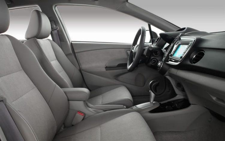 Interior of 2014 Honda Insight