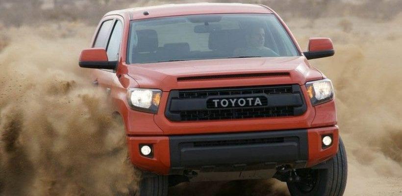 2018 Toyota Tundra Rendering