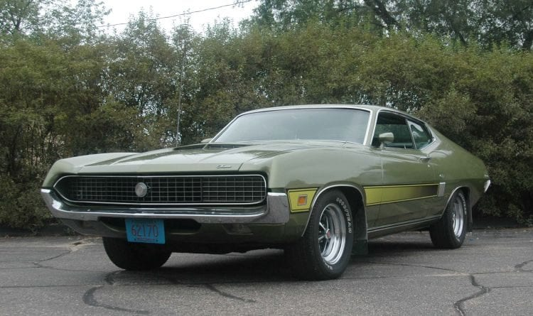 Source: oldcarsweekly.com - 1970 Ford Torino GT