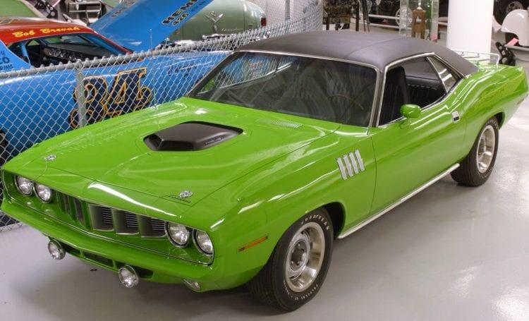 1971 Plymouth Hemi Barracuda shown; Source: netcarshow.com