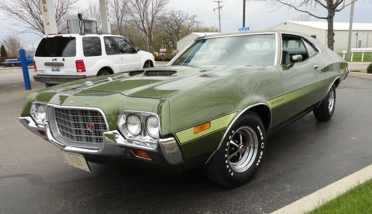 Source: youtube.com - 1972 Ford Torino Grand Sport