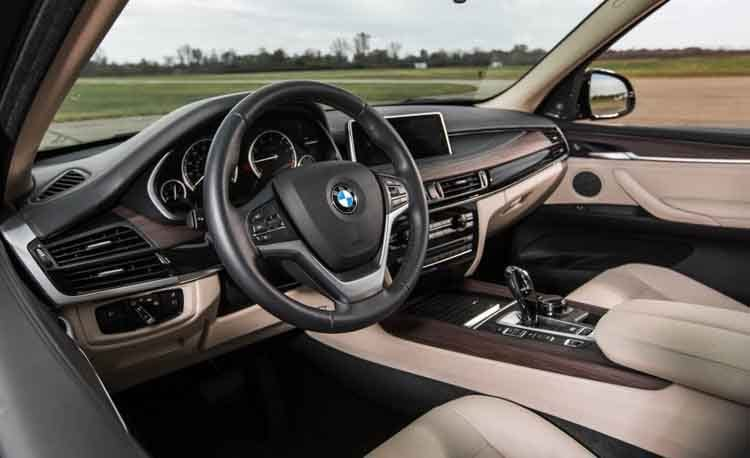 2016 BMW X5 Interior