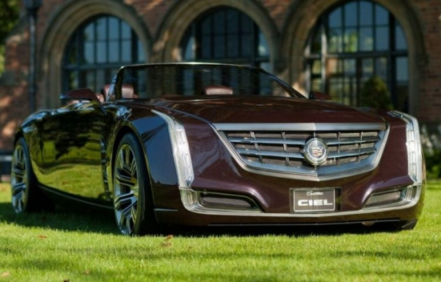 2016 Cadillac Ciel Concept Review Price Release date MPG