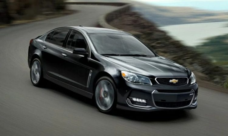 2016 Chevy SS - Source: chevrolet.com