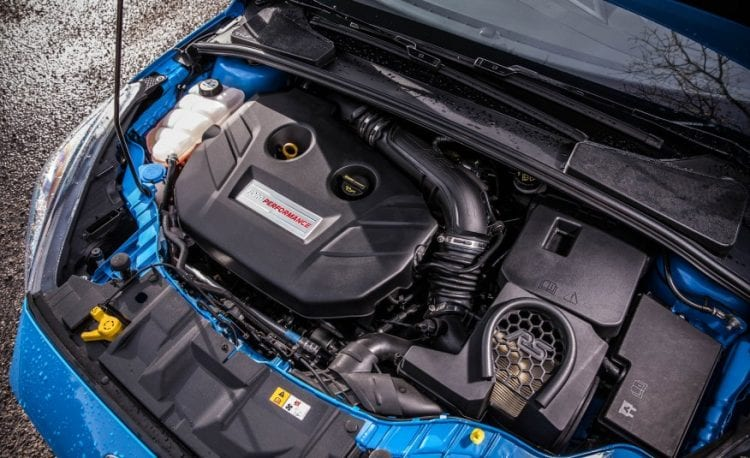 2016 Ford Focus RS500 Engine - Source: caranddriver.com