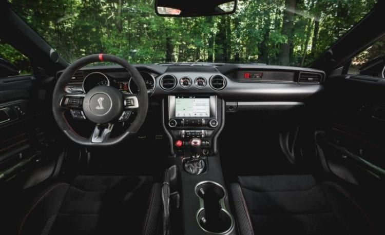 2016 Ford Mustang Shelby GT350R Dashboard - Source: caranddriver.com