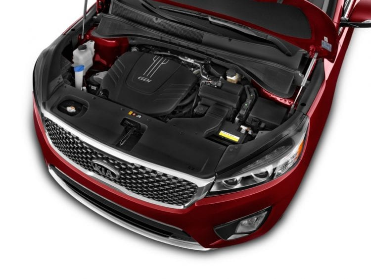 2016 Kia Sorento Engine - Source: thecarconnection.com