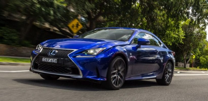 2016 lexus rc 200t f sport review images price safety exterior. Black Bedroom Furniture Sets. Home Design Ideas