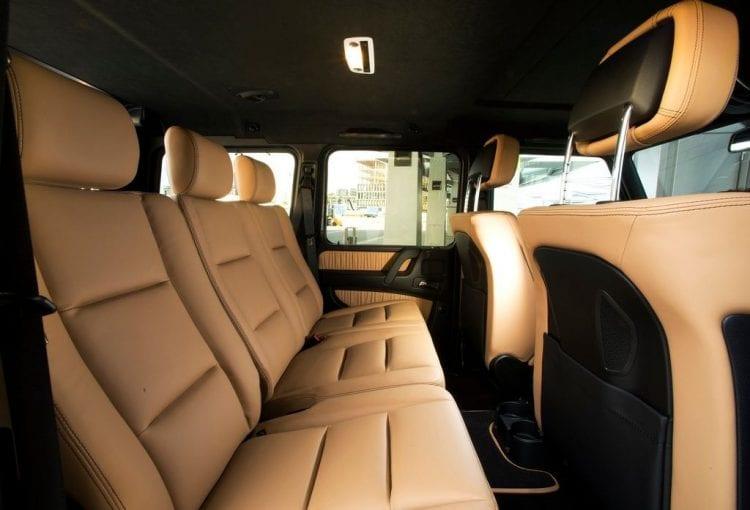 2016 Mercedes Benz G-Class interior shown; Source: netcarshow.com