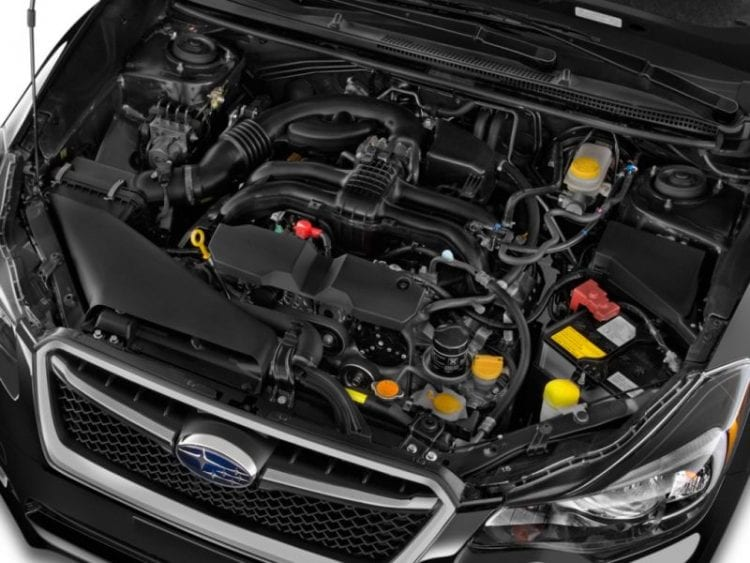 2016 Subaru Impreza Engine - Source: thecarconnection.com