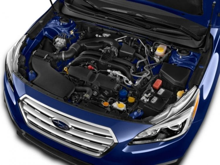 2016 Subaru Outback Engine - Source: thecarconnection.com