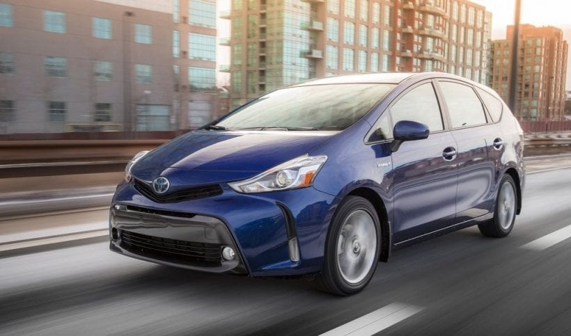 2016 toyota prius v review redesign price photos. Black Bedroom Furniture Sets. Home Design Ideas