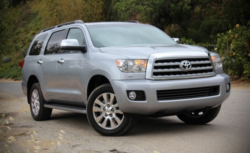 2016 Toyota Sequoia Review Interior Price Pictures Suv Towing