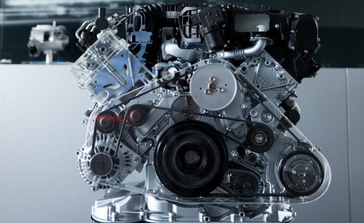 2017 Audi RS5 TDI Engine