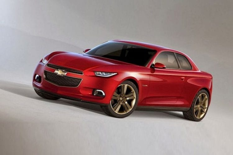 Rendering 2017 Chevy Chevelle SS