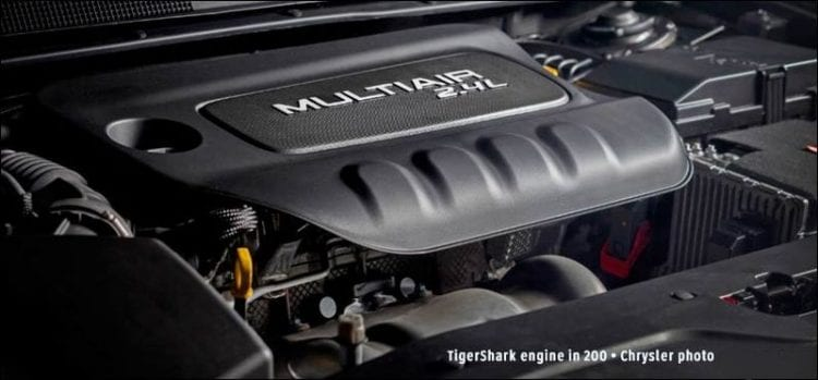 2017 Chrysler 100 Engine