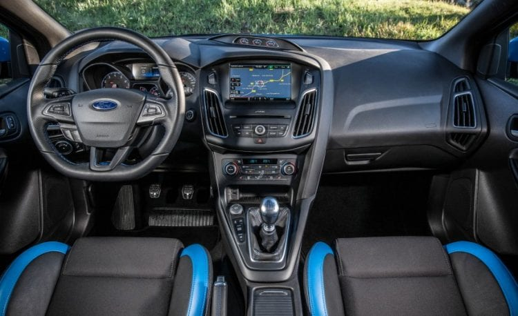 2016 Focus RS500 Interior - Source: caranddriver.com