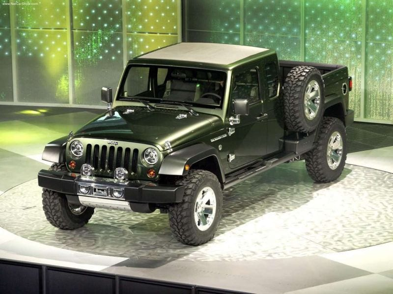 2017 Jeep Gladiator Pickup Release Date News Specs Photos