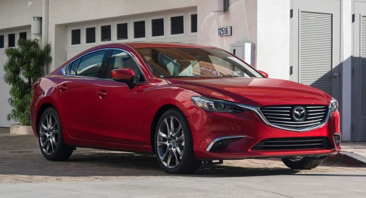Source: mazda-motors.com; 2017 Mazda 6 shown