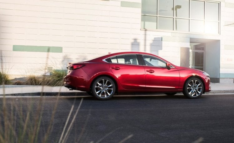 Source: caranddriver.com; 2017 Mazda 6 shown
